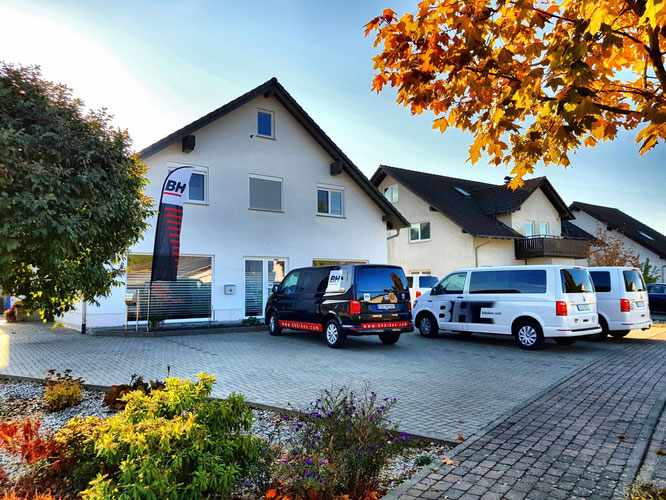BH BIKES    Umzug des Deutschlandbüros abgeschlossen - Außenansicht Office