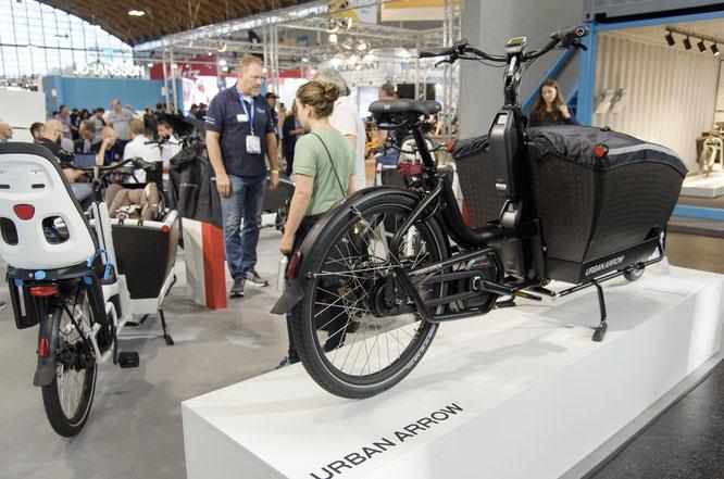 Bei der Eurobike Spezialausgabe bekommt das Trendthema Cargobikes eine gesonderte Ausstellungsfläche