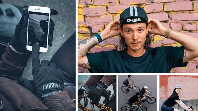 Die urbane Bike-Kollektion von Chrome Industries ist stylisch, strapazierfähig, funktional und witterungsbeständig.