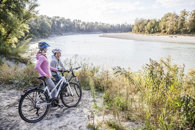 """Die neue """"RADLROAS"""": Eine Zweirad-Entdeckungstour zum Ankommen, Ausspannen und Genießen  © Inn-Salzach Tourismus"""