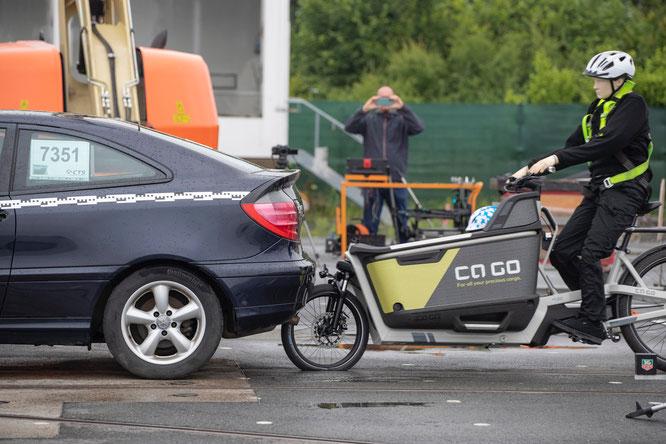 Crashtest Ca Go ©Ca Go Bike