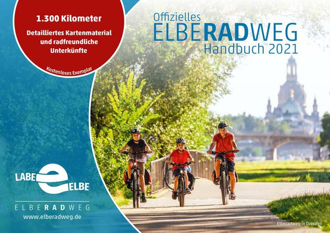 Titelbild Elberadweg Handbuch 2021