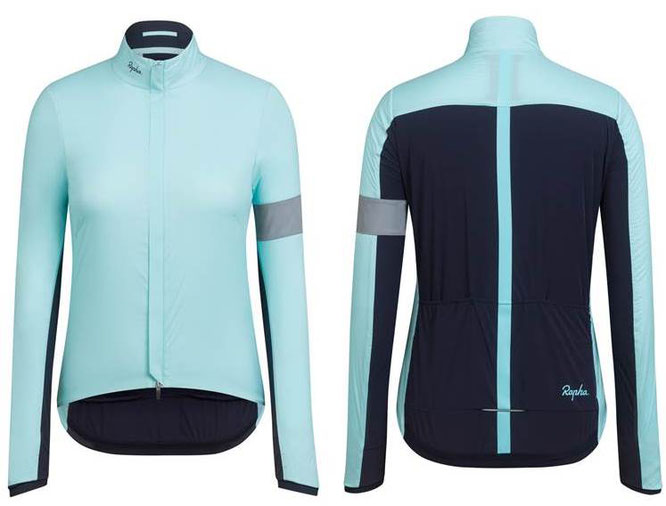 Rapha Souplesse Insulated Jacket mit aktiver Wärmeisolation Polartec® Alpha® am Rücken