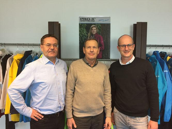 Von links nach rechts: Edwin Haid, Matthias Cramer und Quirin Kammerer / Foto: PRO-X elements