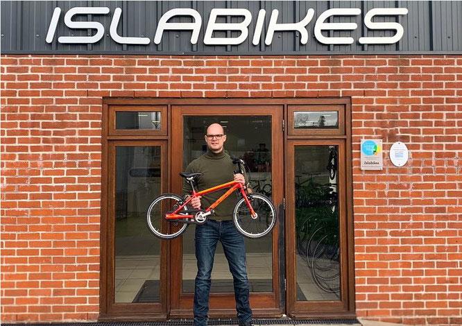 Islabikes engagiert Tobias Heimhalt für Expansion in Deutschland