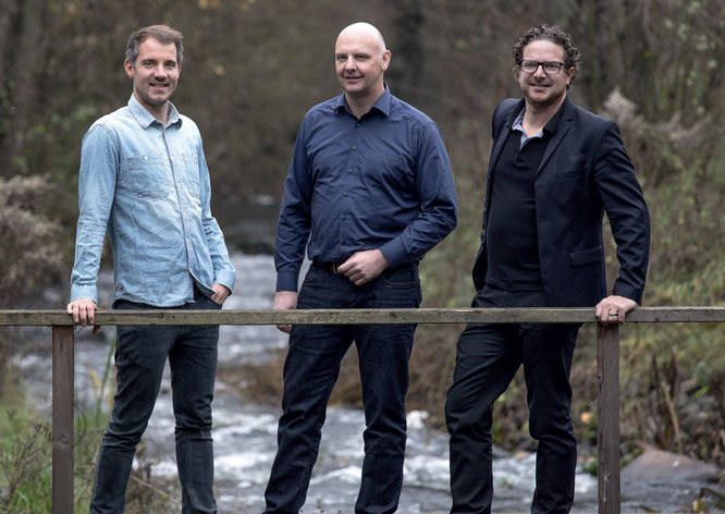 Michael Hecken, Kalle Nicolai, Benjamin Börries