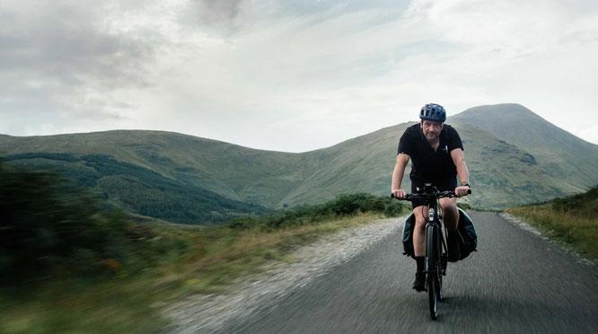 Die Ampler Challenge Tour von Andrew führt ihn auf 1000 Kilometern quer durch das Vereinigte Königreich