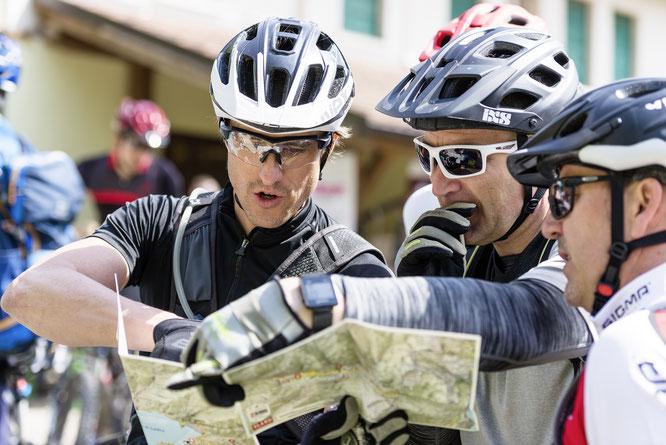Bei der eMTB-Challenge geht es nicht nur um Geschwindigkeit, auch eine gute Orientierungsfähigkeit ist hier von Vorteil.