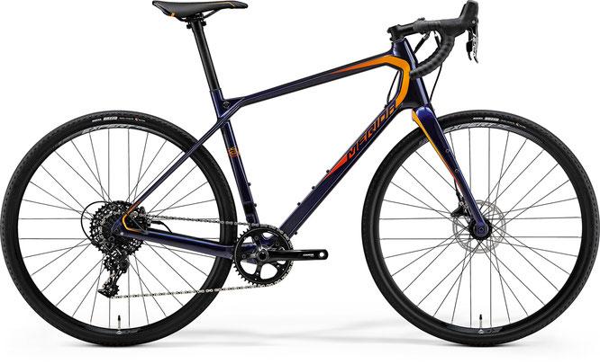 Merida Silex 6000 Gravelbike-Linie, inspiriert von der Mountainbikegeometrie