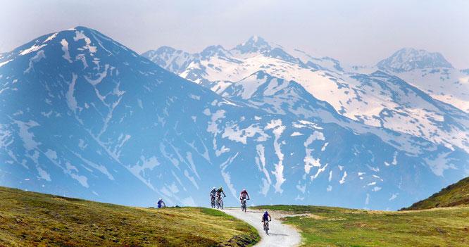 Bike Bergpanorama, © Harald Wisthaler