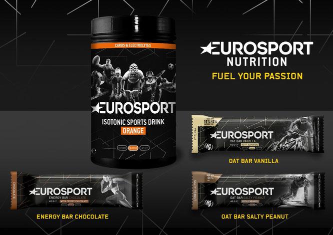 Eurosport Nutrition - vier neue Geschmacksrichtungen