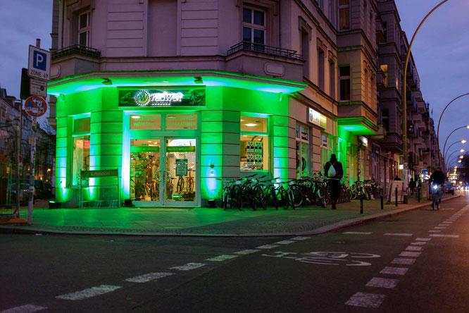 Außenansicht Radwelt Berlin Mitte