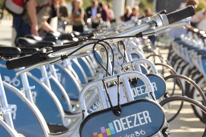 Erste halbe Stunde bei Berlins Nextbike-Leihrädern wird gratis // Bild: ©Velototal - Michael Wagner