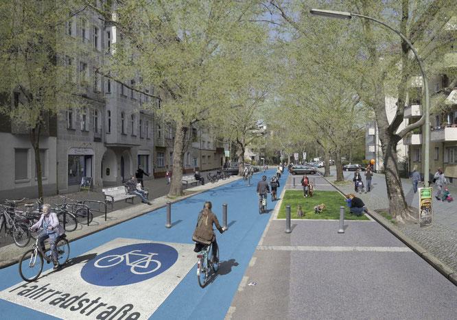 Fahrradstraße ©changing-cities.org