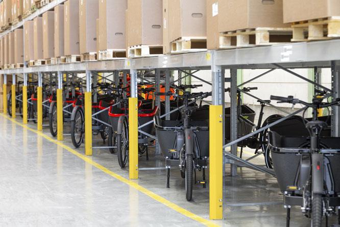Derzeit steht drei Lastenradmodelle zur Auswahl.