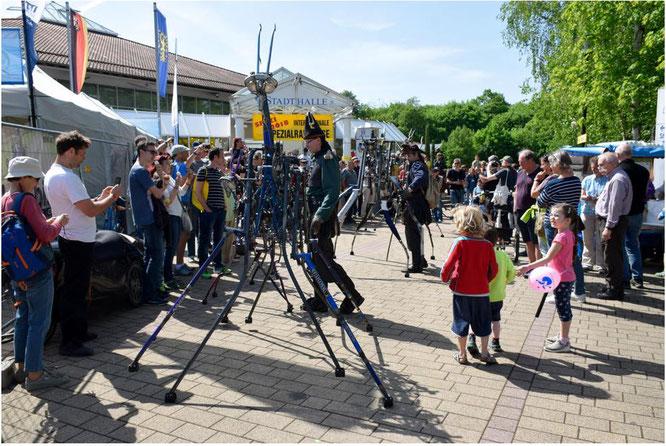 Spezialradmesse 2020 abgesagt: So voll wird's erst Ende April 2021 wieder sein. Einstweilen können Fans auf der Website unterwegs sein.