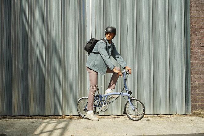 Brompton-Räder sind für Städte gemacht und werden in 47 Ländern weltweit verkauft.