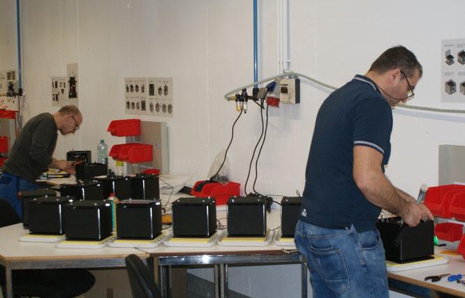 Die Serienproduktion des Cubusan am Standort in Altach ist im vollen Gange.