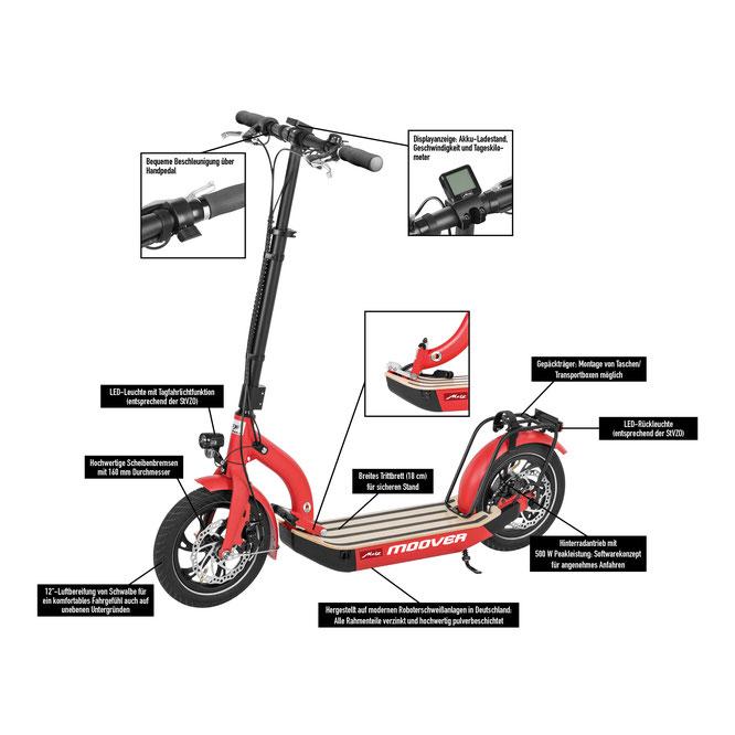 e-Scooter von Metz Moover
