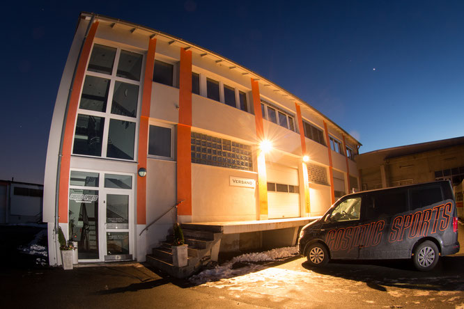 Gebäude Cosmic Sports // © Jens Staudt