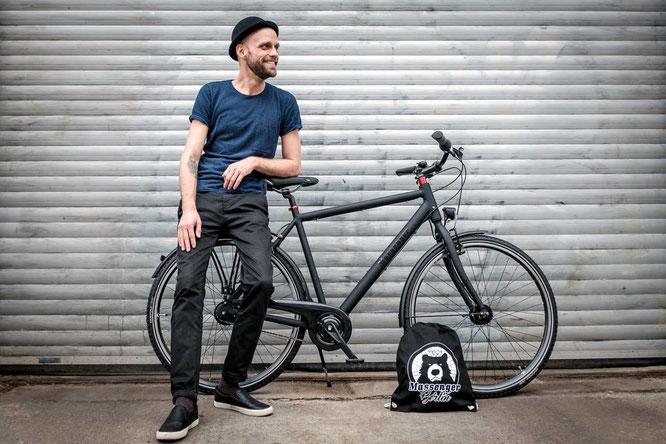 Fahrradkultur – Made in Berlin reflektiert die Philosophie von Massenger Fahrrad Berlin.