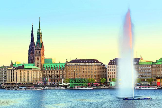 Etappe 1 von Hamburg nach Weimar ©istock