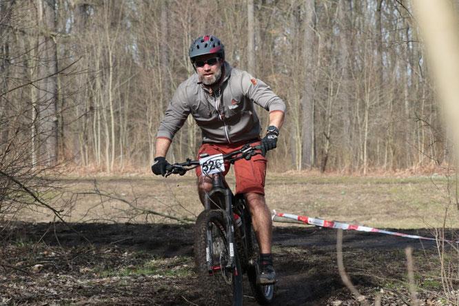 BxR Radfahrer Wald Larasch / Foto: Sportfreunde Neuseenland