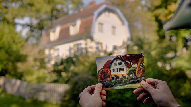 Auf den Spuren von Gabriele Münter und Wassily Kandinsky im Murnauer Münter-Haus ©oberbayern.de