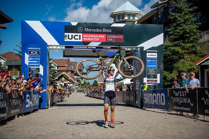 Martin Vidaurre, Lexware Mountainbike Team / Snowshoe USA