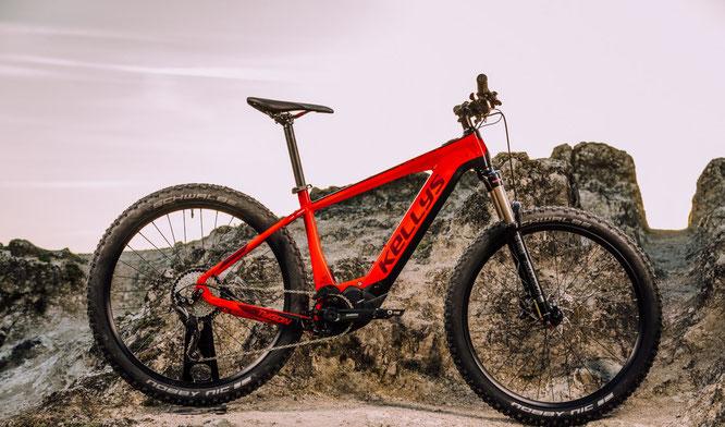 KELLYS BICYCLES vertraut beim TYGON 50 auf den brandneuen SHIMANO STEPS E-7000 ANTRIEB.