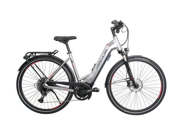 Hercules ist mit dem Pasero Comp I-12 ein tolles E-Trekkingrad gelungen