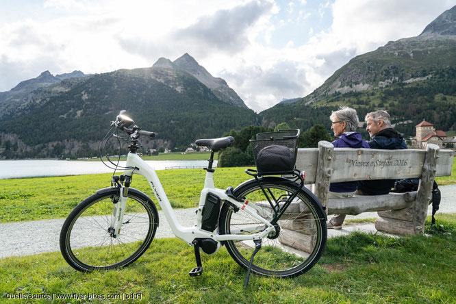 Kleine Ausflüge in die Umgebung können mit dem Pedelec auch etwas größer werden. Solange noch Reserven im Akku sind ist die Tour nicht zu Ende.  Quelle/Source [´www.flyer-bikes.com | pd-f´]