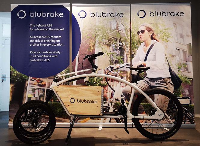 Blubrake präsentiert das erste ABS-System für Cargo-Bikes