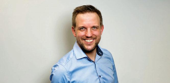 Nick Meyer-Venecia startet als Gebietsverkaufsleiter von assona im Süden Deutschlands.