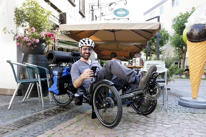 Wer eine Reise tut – nimmt gerne viel mit: Liegeradspezialist ©HP Velotechnik rüstet seine Trikes dafür nun mit passendem Zubehör aus.