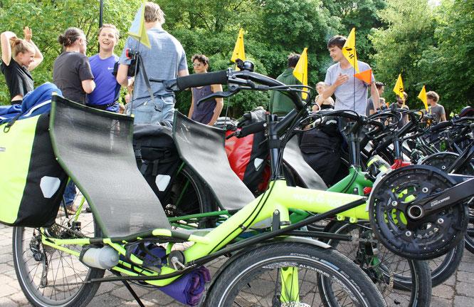 Virtuell am 24. und 25. April: die 25. Internationale Spezialradmesse im Web unter www.spezialradmesse.de.    Foto: Spezialradmesse