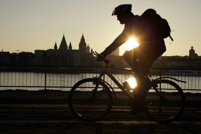 Für das tägliche Radfahren belohnt werden, das ist das Motto der Bike Benefit Kampagne in Mainz. @BikeCitizens