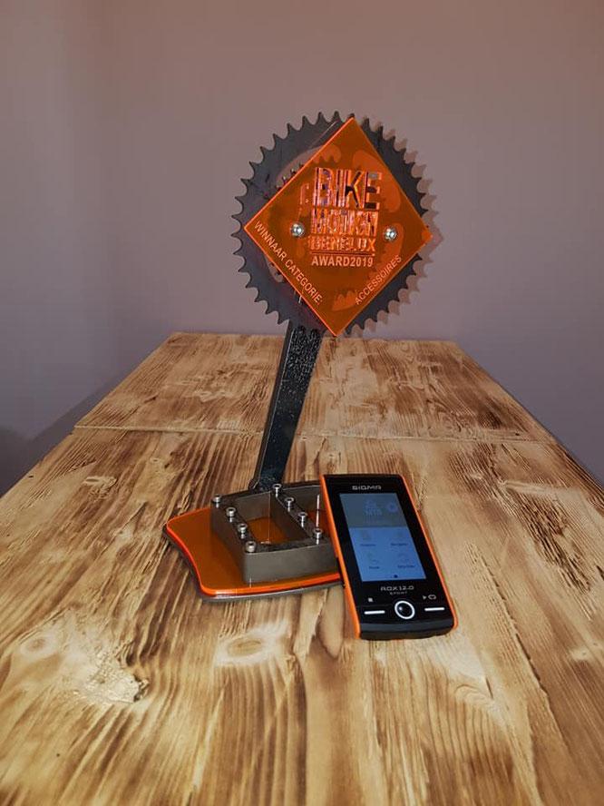 Bike Motion Award 2019 Gewinner SIGMA SPORT GPS Bike Computer ROX 12.0 SPORT / Foto: SIGMA SPORT