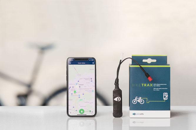 BikeTrax - GPS Tracker mit Smartphone