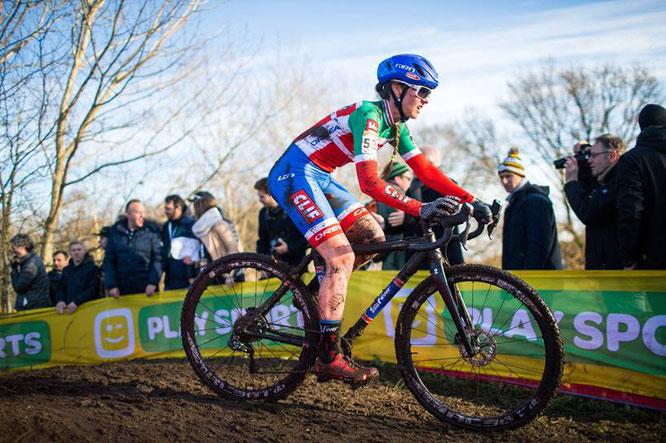 Eva Lechner: die Italienmeisterin gehört auch im Cross-Weltcup zu den Besten // Foto (Marcel Hilger)