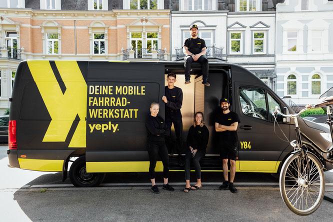 Yeply ist die mobile Fahrradwerkstatt aus Finnland