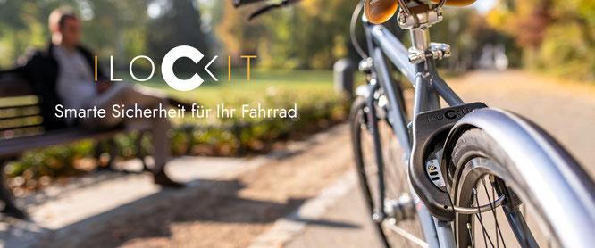 Egal ob in der Stadt oder auf dem Land – I LOCK IT kümmert sich darum, dass Ihr Fahrrad bei Ihnen bleibt.