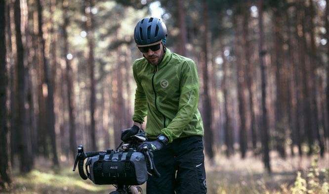 Kellys Windpack - Ultraleichte winddichte Jacke mit aerodynamischem Windschutz