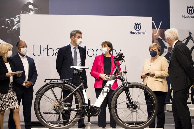 Das Gran Urban ist Teil der Urban Mobility Flotte, die vom elektrischen Kinder Balance Bike bis hin zum E-Motorrad ganz unterschiedliche Fortbewegungslösungen bietet. © Sandra Steh Photography