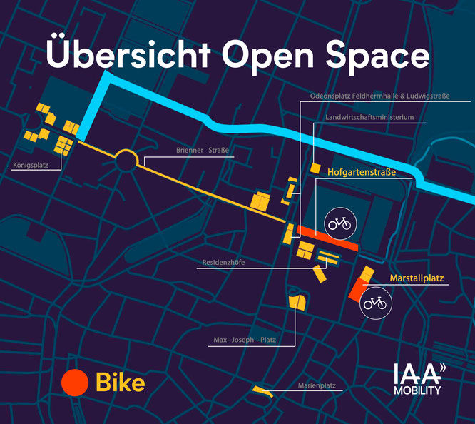 Übersicht Open Space  IAA Mobility