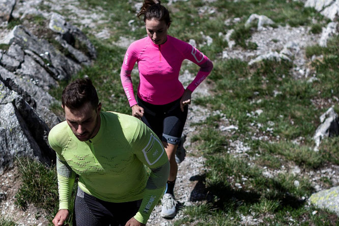 X-Bionic: High-tech sportswear for ultimate performance improvement.