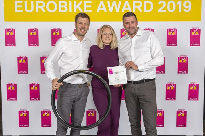 Vredestein gewinnt Eurobike Award 2019 mit innovativem Fahrradreifen