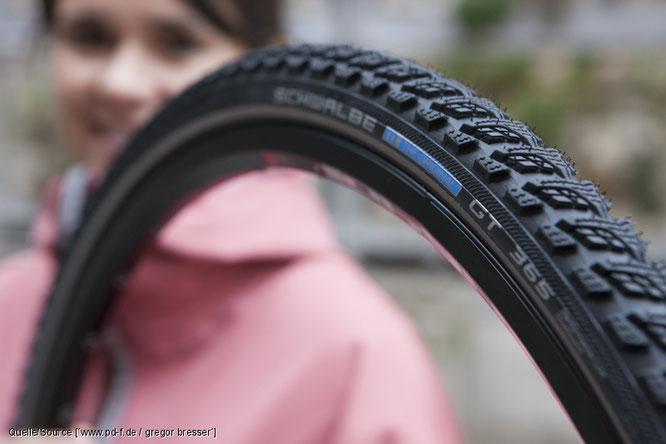 Wie der Fahrradreifen länger hält