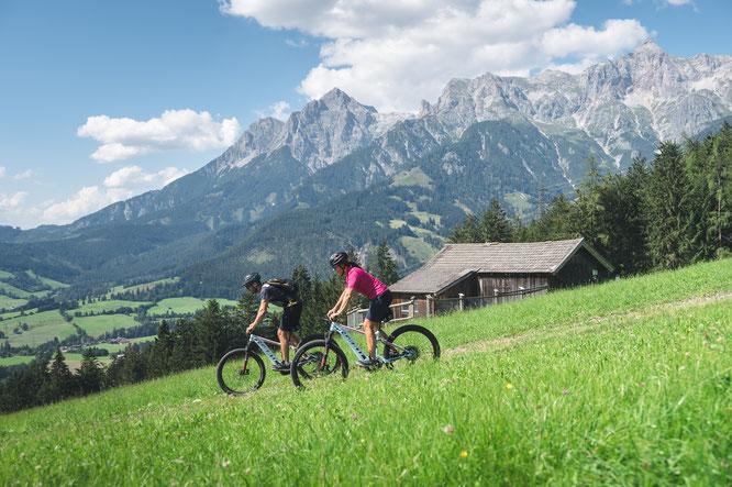 Urlaubsregion im Salzburger Land bietet ihren Gästen ein besonderes Highlight ©Hochkoenig Tourismus