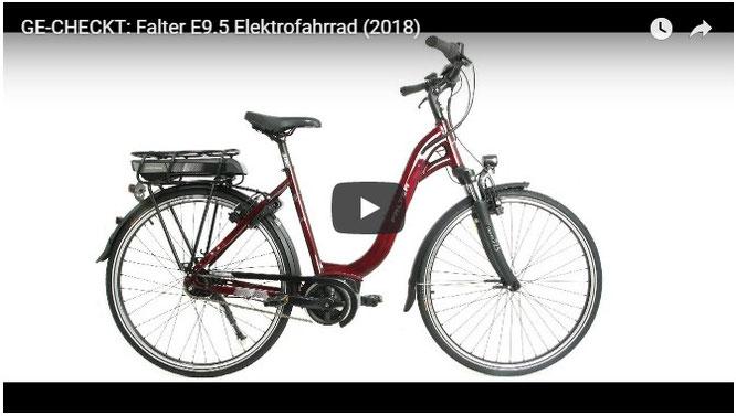 GE-CHECKT: Falter E9.5 Elektrofahrrad (2018)
